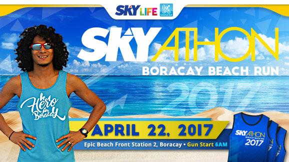Be a hero for Boracay on April 22 via SKYathon Boracay Beach Run