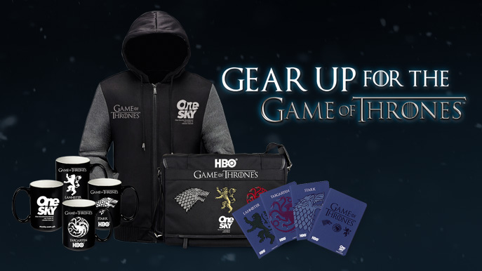 "SKY Continues ""Game of Thrones"" Mania with Exclusive Giveaways"