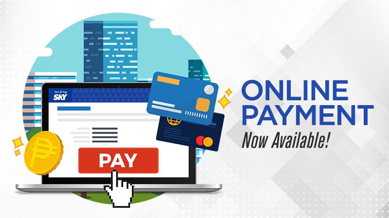 NEW! Quick and easy mysky way for paying your bills