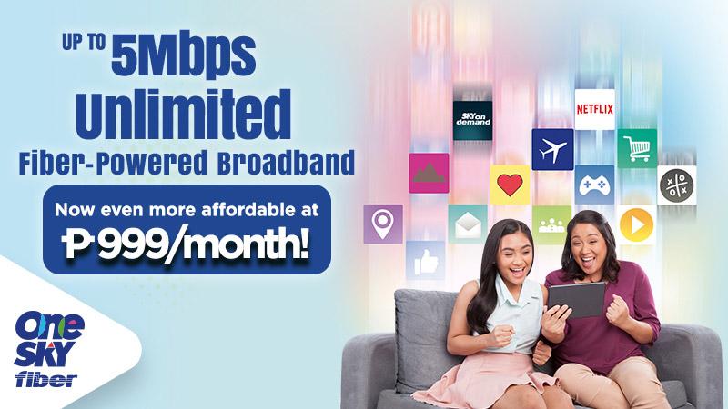 sky offers unli fiber broadband for less than p1 000. Black Bedroom Furniture Sets. Home Design Ideas
