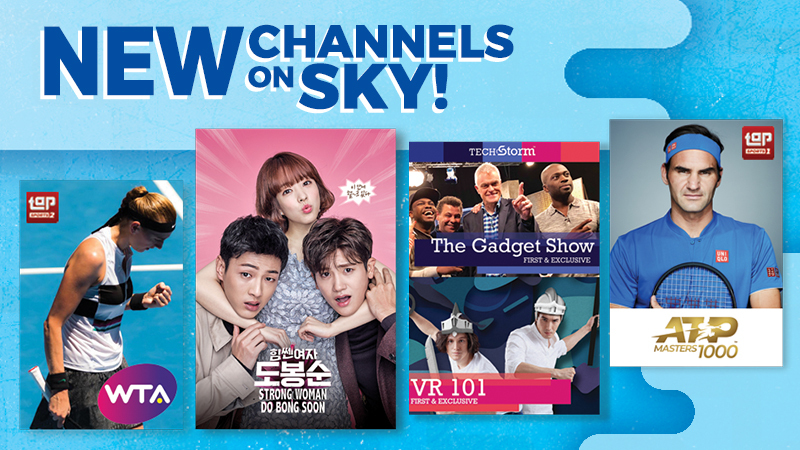 LOOK: New SKYcable Channels to Spice Up Your Summer