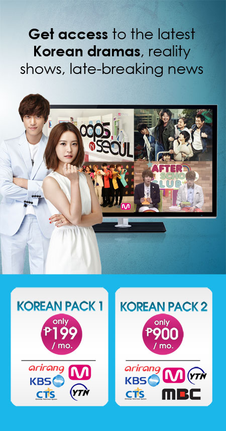 korean packs