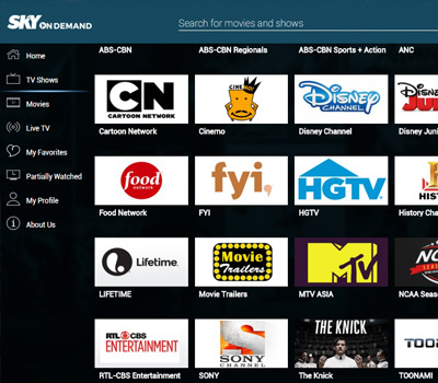 FREE Catch Up Of Your Favorite Cable TV Shows, Anytime On Your Big Screen TV