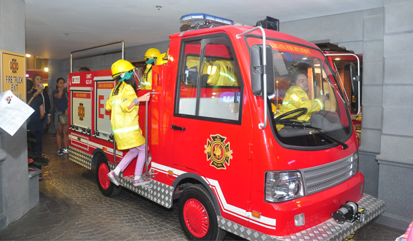 KidZania Manila Firefighters