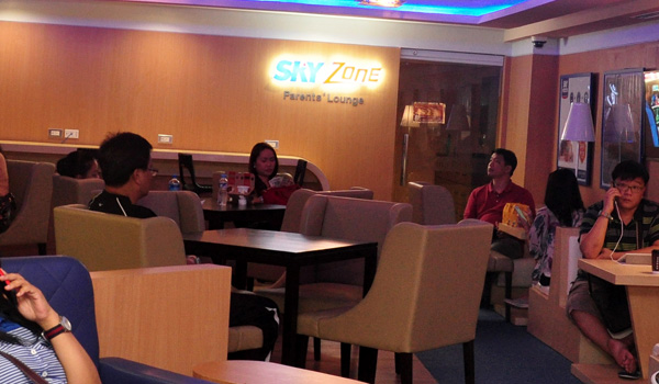 KidZania Manila Parent's Lounge