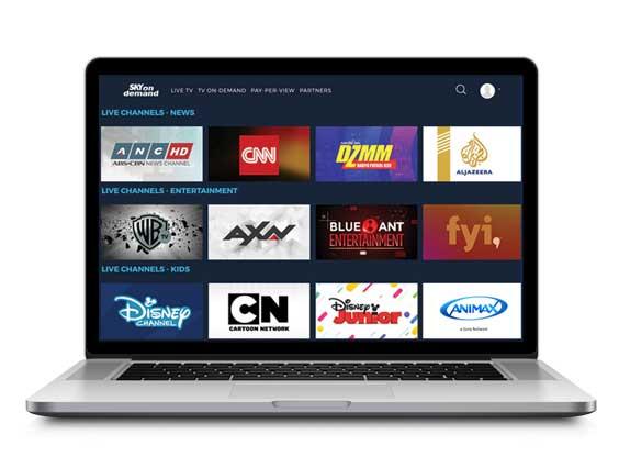 SKY On Demand | Live Stream | SKYcable