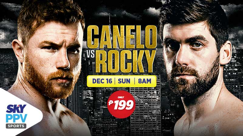 Canelo vs Rocky