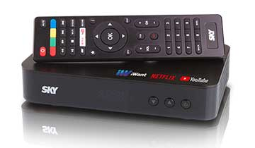 Upgrade the family's viewing experience with SKY Digibox HD!
