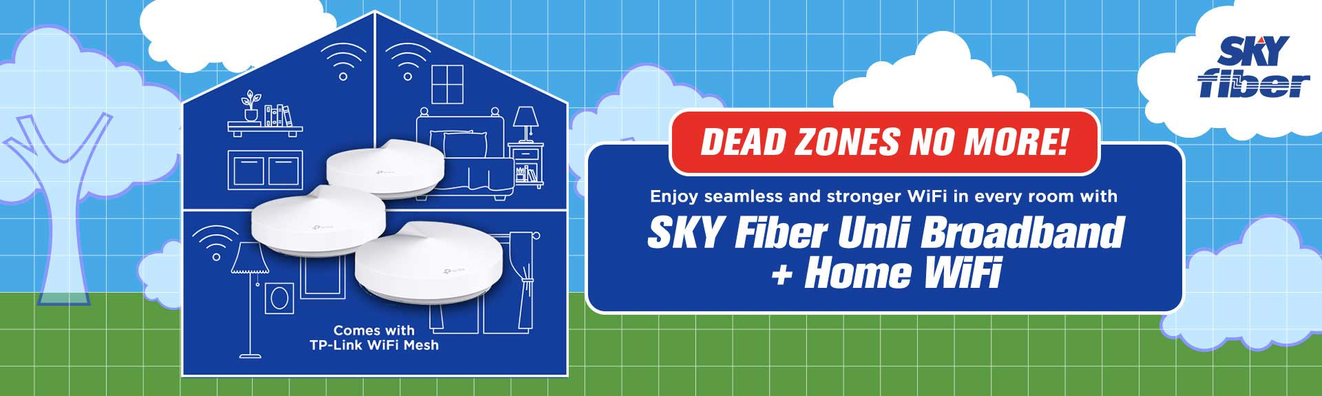 SKY Home | WiFi Booster | Mesh
