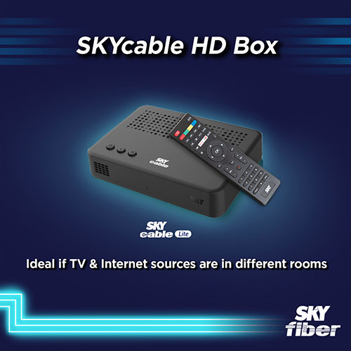 skycable hd box