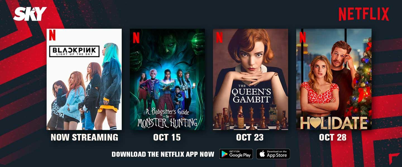 Netflix Oct 16-31