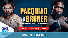 Pacquiao vs Broner (On Demand)
