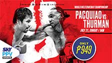 Pacquiao vs Thurman (On Demand)